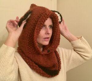 Fall/Winter Knitted Fox Cowl/Hood Kingston Kingston Area image 7