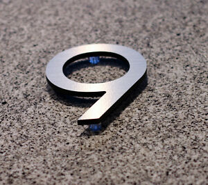 LARGE MODERN METAL HOUSE NUMBERS by HOUSE NUMBER KING Kawartha Lakes Peterborough Area image 8