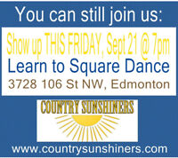 Learn to Square Dance - Weekly Lessons ending mid Dec
