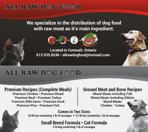All Raw Dog and Cat Food