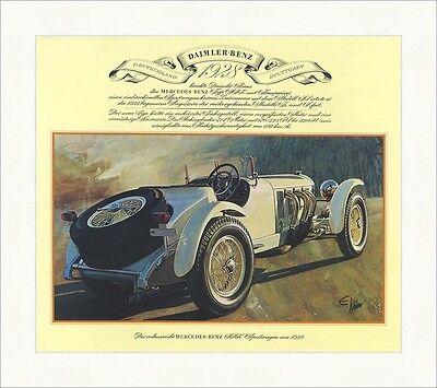 Mercedes Benz 1928 Typ SSK Kompressor Sechszylinder Zweisitzer Sport Oldtimer 45
