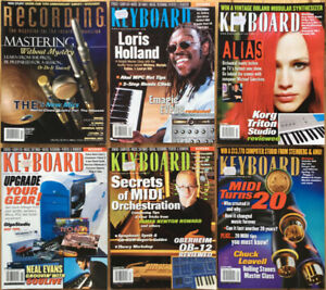Mix/Keyboard/Studio Sound Magazine Vintage Collection