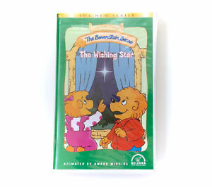 Vintage Berenstain Bear The Wishing Star VHS Movie Clam Shell