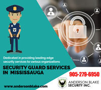 High Level Security Guard Services in Mississauga