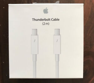 CÂBLE THUNDERBOLT APPLE 2m