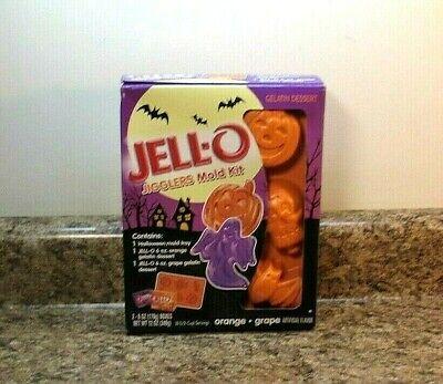Jell-O Jigglers Halloween Mold Set New In Box