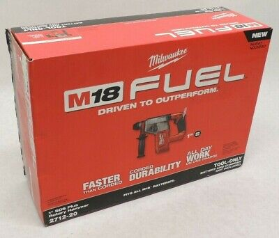 Milwaukee 2712-20m18 Fuel 18-volt Brushless 1 Sds-plus Rotary Hammer -tool Only