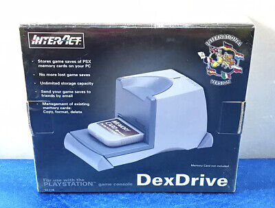 DEX DRIVER SV-1128 INTERACT VERSION INTERNACIONAL PLAY STATION 1 PS1 PS ONE...