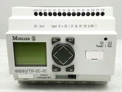 Nice Moeller Easy719-dc-rc Programmable Smart Relay Module