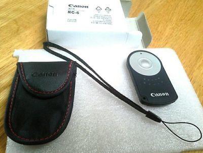 Genuine Canon RC-6 remote with free wrist strap     USA shipping