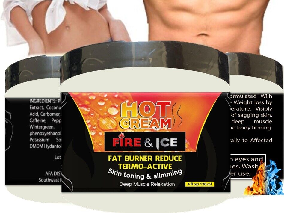 For Body Naturals Hot Cream for Cellulite Reduction Skin Toning and Slimming 3