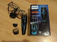 Philips BT7202 Vacuum Beard Trimmer - used, boxed with all accessories