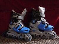 Kids roller blades size 10-13