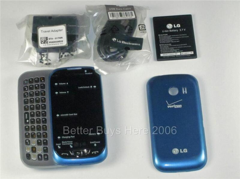 LG Extravert 2 VN280 - Blue  Cellular Phone