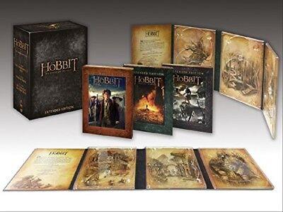 Der Hobbit - Die Spielfilm-Trilogie Extended Edition Komplettbox NEU * 15 DVDs ()