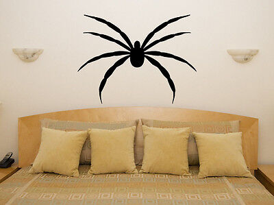 Spider Scarey Spooky Halloween Prank Joke Bedroom Decal Wall Art Sticker Picture](Spooky Halloween Pranks)