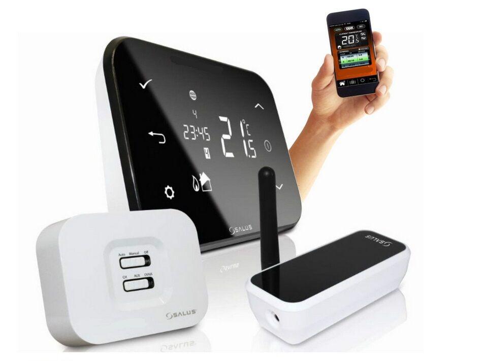 salus it500 smart thermostat wireless smartphone central. Black Bedroom Furniture Sets. Home Design Ideas