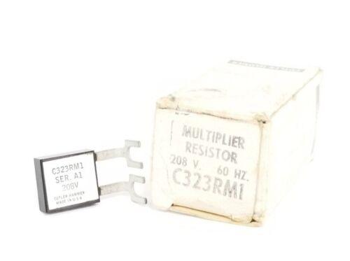 NIB EATON CUTLER-HAMMER C323RM1 MULTIPLIER RESISTOR 208V. 60HZ