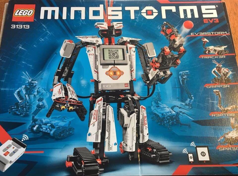 LEGO Mindstorms EV3 (#31313). Used once or twice, original price £230. Asking £150 or best offer