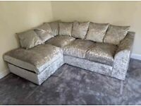 💥💣BRAND NEW CORD AND💣💥 CRUSHED VELVET CORNER AND 3PLUS2 SOFAS ARE 💥💥💥