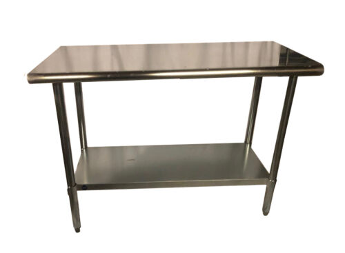 Commercial Stainless Steel Food Prep Work Table 18 x 36 - NSF