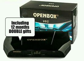OpenBox latest v9s Built-in WiFi with 12months DOUBLE gifts and guaranteed