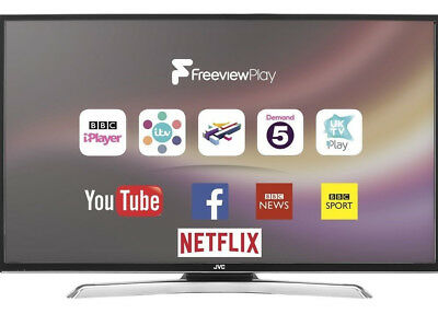 "JVC LT-39C770 39"" SMART LED TV Built-in WiFi & Freeview Play HD  (Ref 32 40 42)"