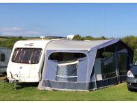 Dorema StarCamp Cameo Blue Awning Size 13 950-975cm Caravan Awning