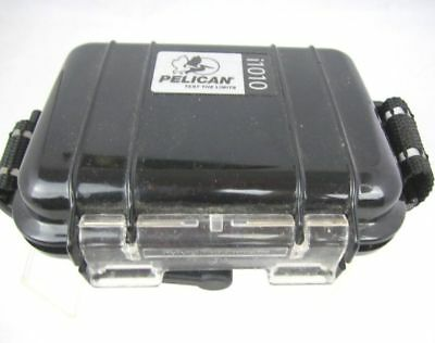 PELICAN i1010 WATER RESISTANT HARD MICRO CASE WITH IPOD INSERT Black Free shippi I1010 Micro Case