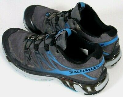 info for 3daec 16d34 Salomon XT Wings 3  139 Men s Trail Running Shoes Size 8 Gray   Blue