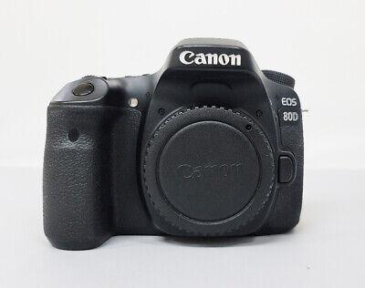 Canon EOS 80D 24.2MP DLSR Camera - Black