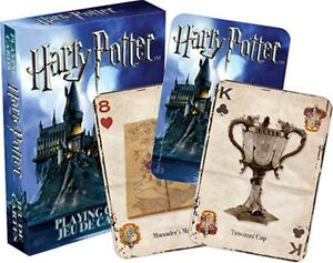 Harry Potter set of 52 playing cards (nm 52330)