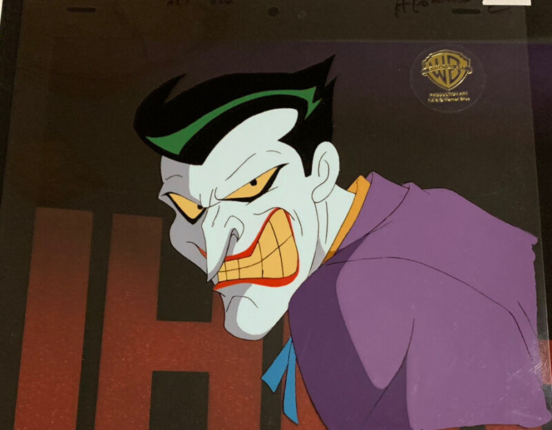 Batman The Animated Series Original Animation Cel The Joker