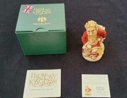 NIB! Harmony Kingdom HOLY SIT Santa Sitting on a Toilet