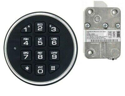 La Gard Safegard Basic 3000 Round Keypad And 4200m Lock Kit For Most Safes