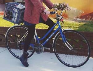 Ladies blue and white Indi 500 bicycle STOLEN Mount Lawley Stirling Area Preview