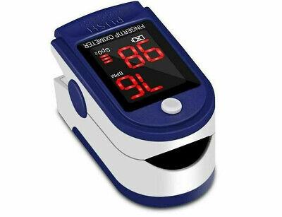 Home Finger-clamp Medical Oximeter Pulse Blood Oxygen Spo2 Pr Saturation Monitor