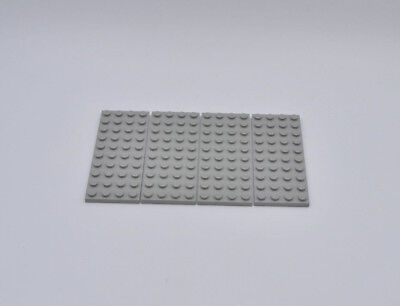 LEGO 4 X BASISPLATTE 4X10 ALTHELL GRAU OLDGREY GRAY BASIC PLATE 3030 303002