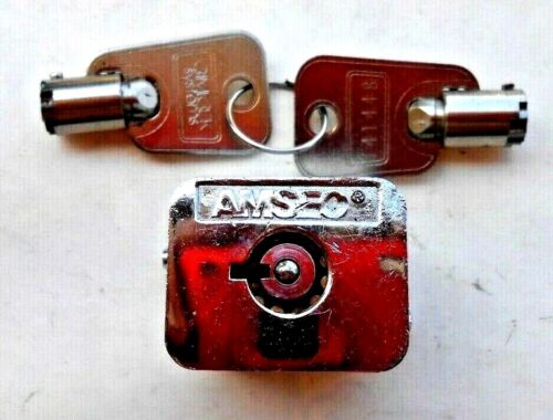 AMSEC  Lock with 2 keys