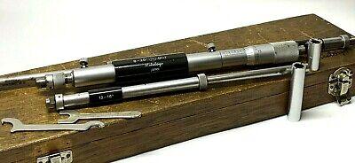 Mitutoyo 141-121 Ims 8-20 Inside Micrometer Gauge Set