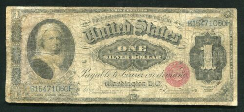 """FR. 216 1886 $1 ONE DOLLAR """"MARTHA"""" SILVER CERTIFICATE CURRENCY NOTE"""