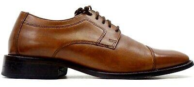 Johnston & Murphy Mens Larsey Tan Cap-Toe Oxford Dress Shoes US 7 EU 38.5