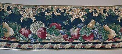 Westmount Country Fruit & Vegetables Apples Prepasted Wallpaper Border 5 Yds