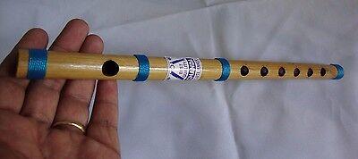 Flute, 'C' Scale,13 inches, 440 hz, Professional, Bansuri, Nylon wire, India