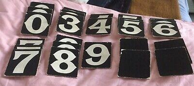 Old Hymn Board Numbers Used