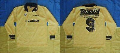 ● RARE MATCH WORN OR ISSUE? SHIRT FC THUN SWITZERLAND LONG SLEEVES 1990'S ● image
