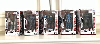 Transformers War For Cybertron Netflix Lot Of 5 Deluxe Chromia Mirage Hound...
