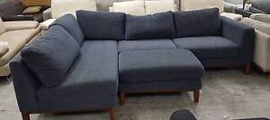 FACTORY SECOND AMELIE CHAISE SOFA WITH OTTOMAN - SUPER COMFY! Richmond Yarra Area Preview