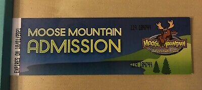 Moose Mountain Mini Golf Mall Of America tickets DONT EXPIRE UNTIL October 2021
