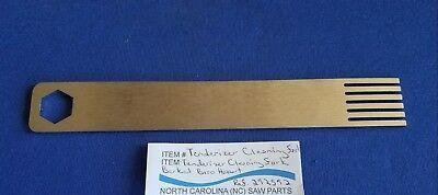 Stainless Steel Tenderizer Cleaning Fork Use On Berkel Tenderizers Ref. 292592